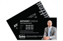 Business Card - Graphic Design - Anthony Chiechi Featured