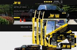 Corporate Branding - Metro Jet Wash Featured