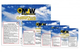 Label - Graphic Design - MJW Odour Solutions Featured