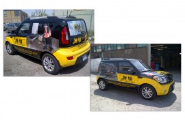 Vehicle Vinyl Wrap - Graphic Design - Metro Jet Wash Featured